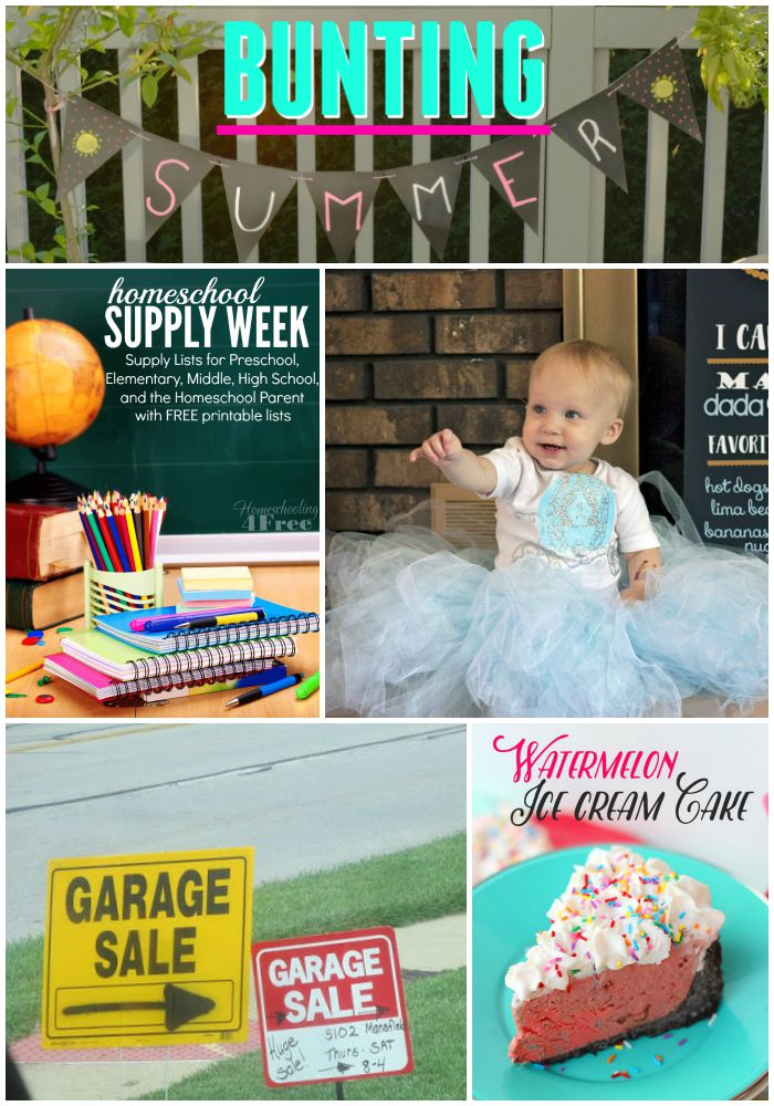LINKY PARTY |My Favorite Things Linky party features 130