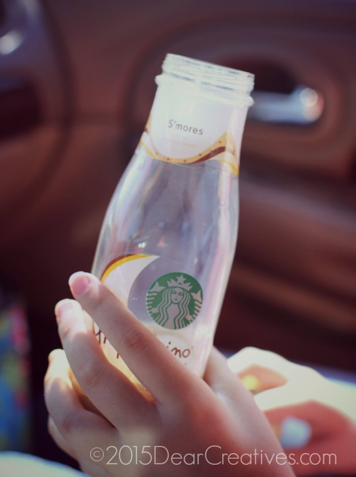 Starbucks iced coffee S'mores Frappuchino