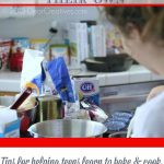 Baking With Teens |Kids /Teen Baking and Cooking Tips