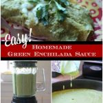 authentic homemade enchilada verde green sauce
