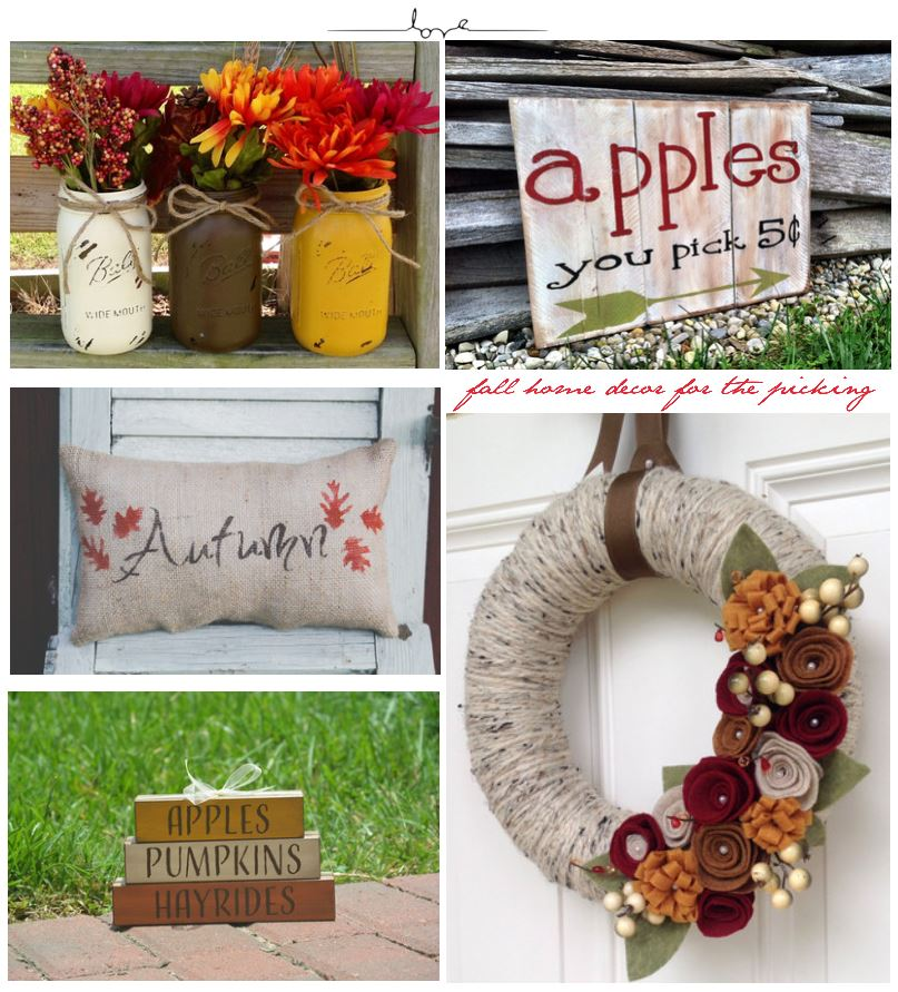 Handmade Fall Décor Easy Ideas For