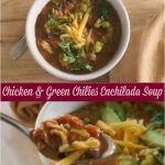 Easy Soup Recipes | Chicken & Green Enchilada Soup