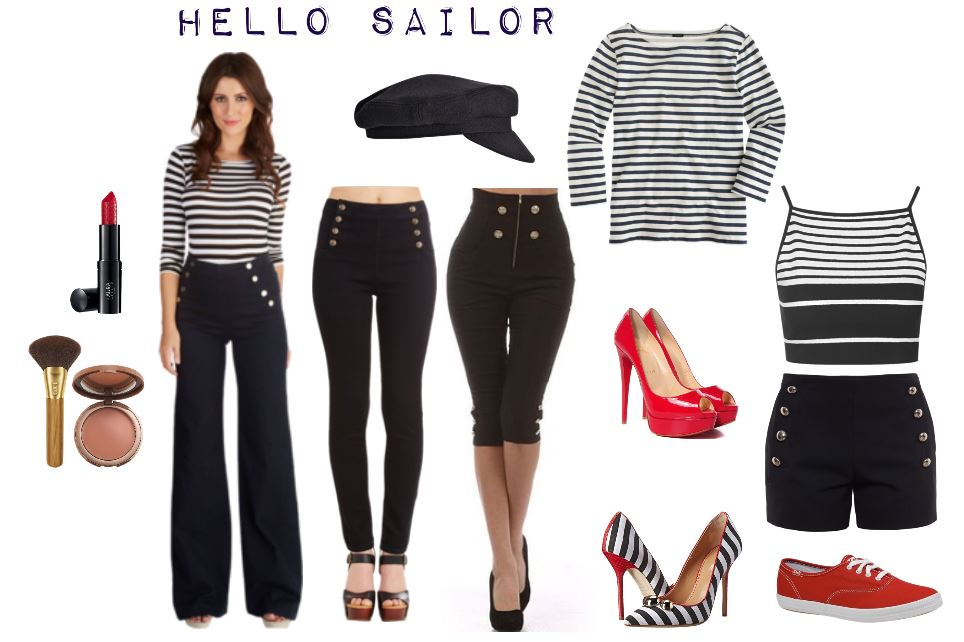 Nautical Fashions Perfect for Labor Day Outings & Parties