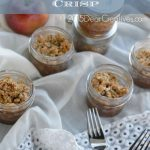 Easy Dessert Treat Recipe Mason Jar Apple Crisp