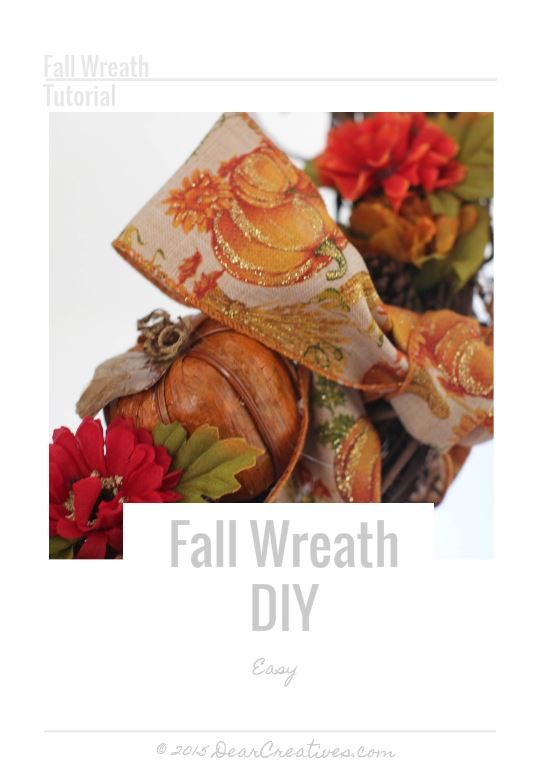DIY Crafts Project | Fall Wreath DIY