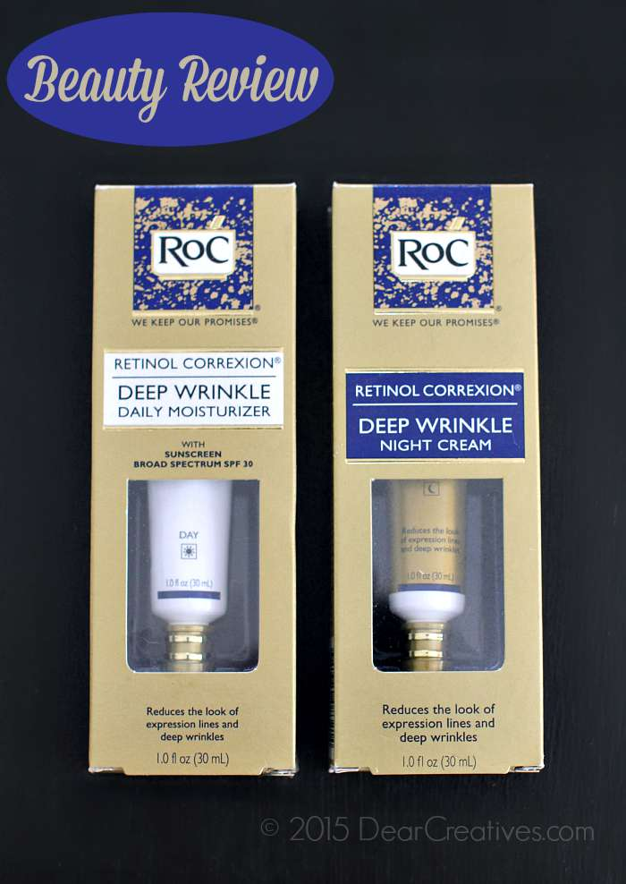 Roc Cosmetics Moisturizer and Night Cream