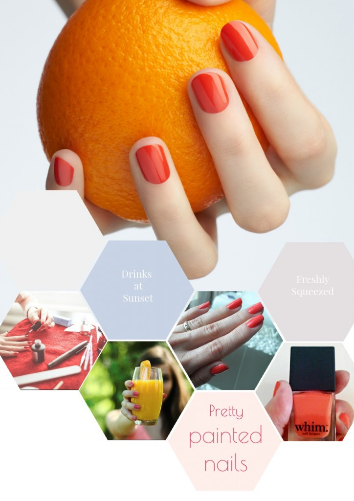 Beauty tips |Painted Nails Collage