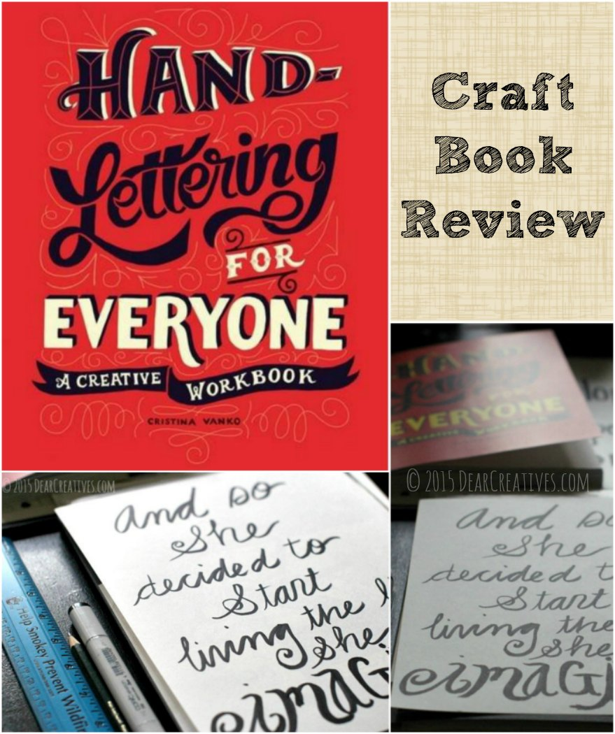 books craft books book review hand lettering for everyone