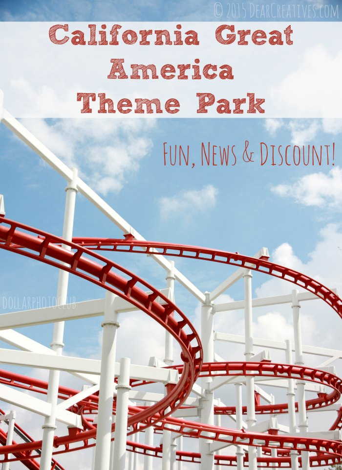 CA Great America Theme Park Fun News And Discount
