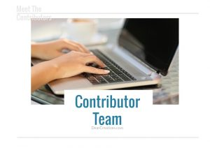 Join The Contributor Team DearCreatives.com