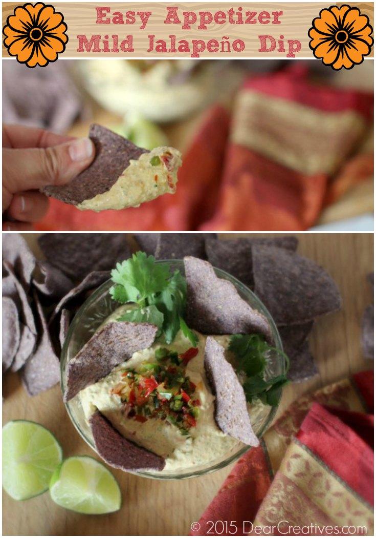 Easy Appetizer Recipe Mild Jalapeno Dip
