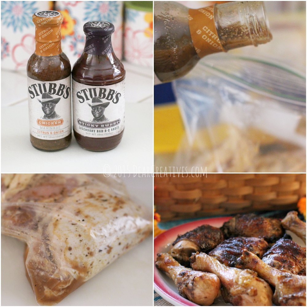 Grilled Chicken| Steps for how to Marinade chicken and finished grilled chicken