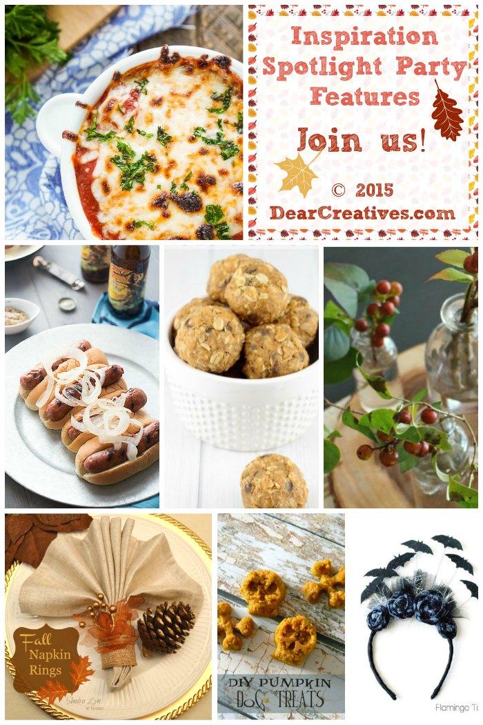 Roundup  Crafts DIYs Home Decor Recipes Inspiration Spotlight DearCreatives.com