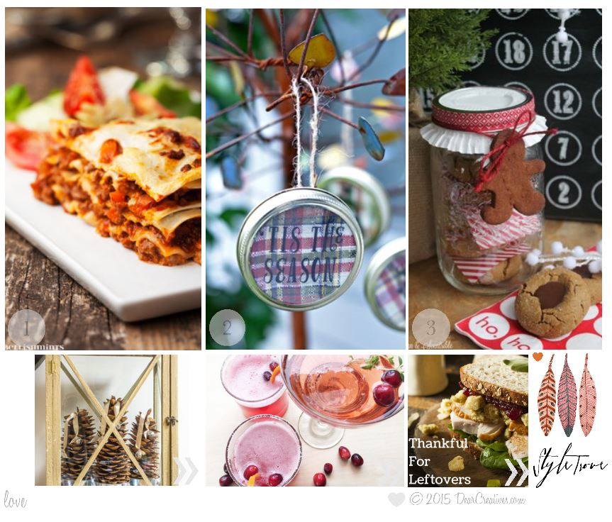Roundup | Inspiration Spotlight Linky Party Features