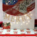 DIY Crafts Project Christmas Crafts Led Canvas Light DIY Hero Image