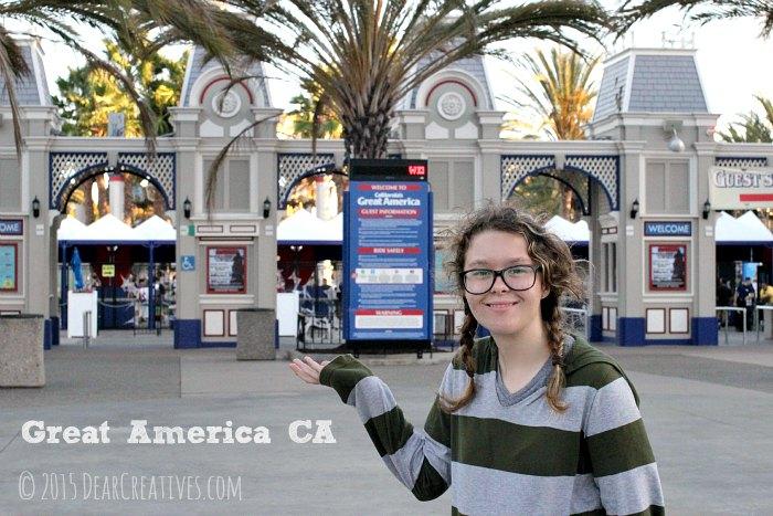 Entertainment Entering Great America CA