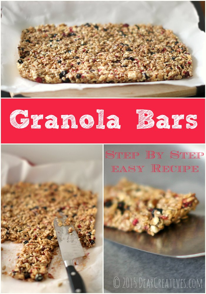 Granola Bars Step by Step
