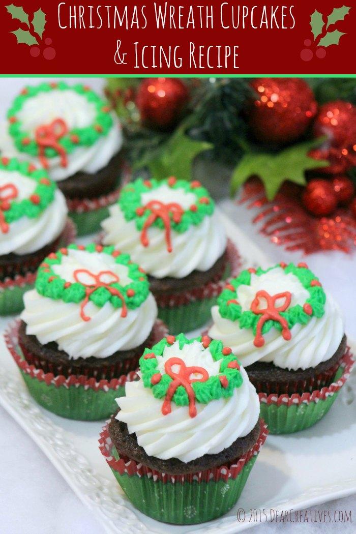 Christmas Cupcakes Recipe