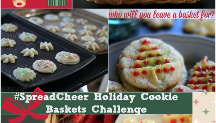 Holiday Cookies : Quick And Easy #SpreadCheer Baskets