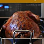 Roast Turkey Stuffed With Onion Pears And Sage