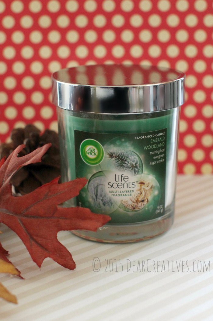 home-Life Scents Fragranced Candle with multi layers