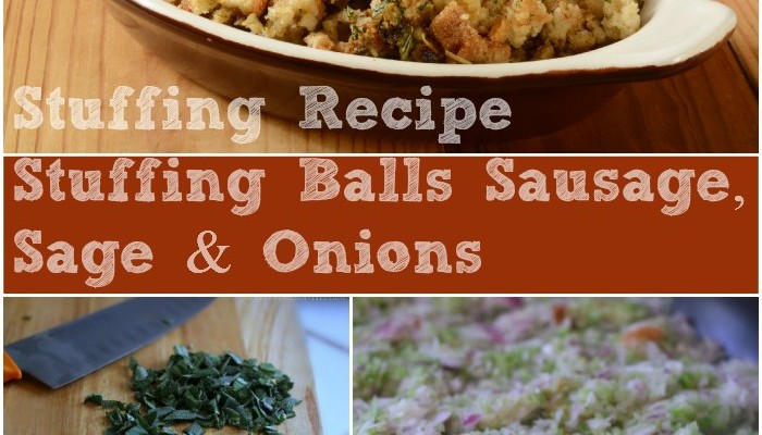 Must Try Side Dish! Stuffing Balls With Sausage And Herbs