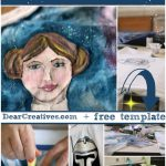 DIY Crafts |Star Wars Inspired Hand Painted Tee Shirt DIY