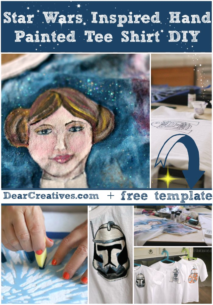 DIY Star Wars T-Shirts With Free Templates