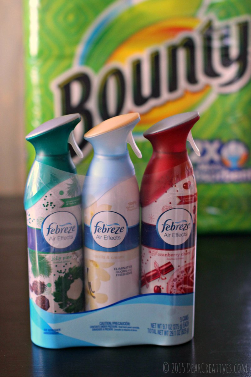 Close up of Febreze Air Effects