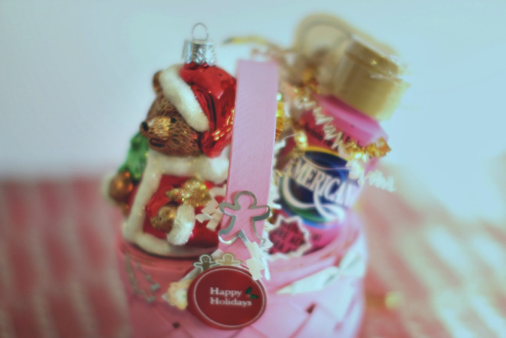 Christmas Crafts Personalize the mini baskets