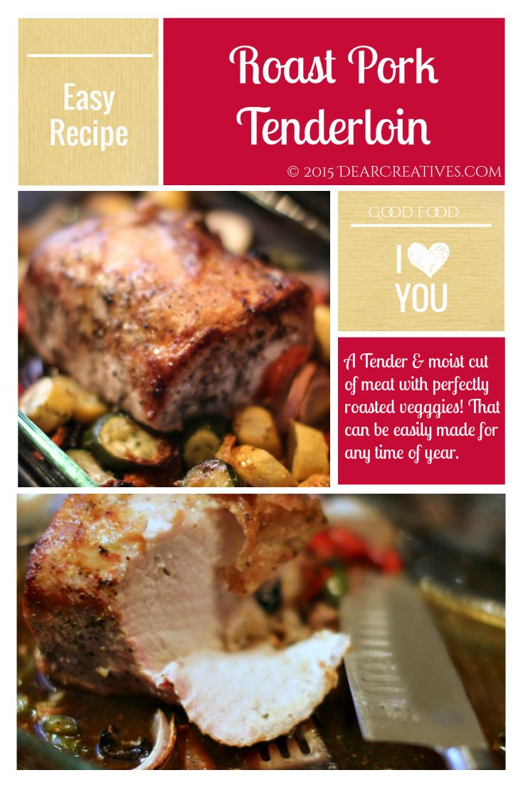 Pork Tenderloin Recipe |Roast Pork Tenderloin