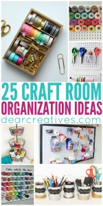 Craft Room Ideas |craft-room-organization
