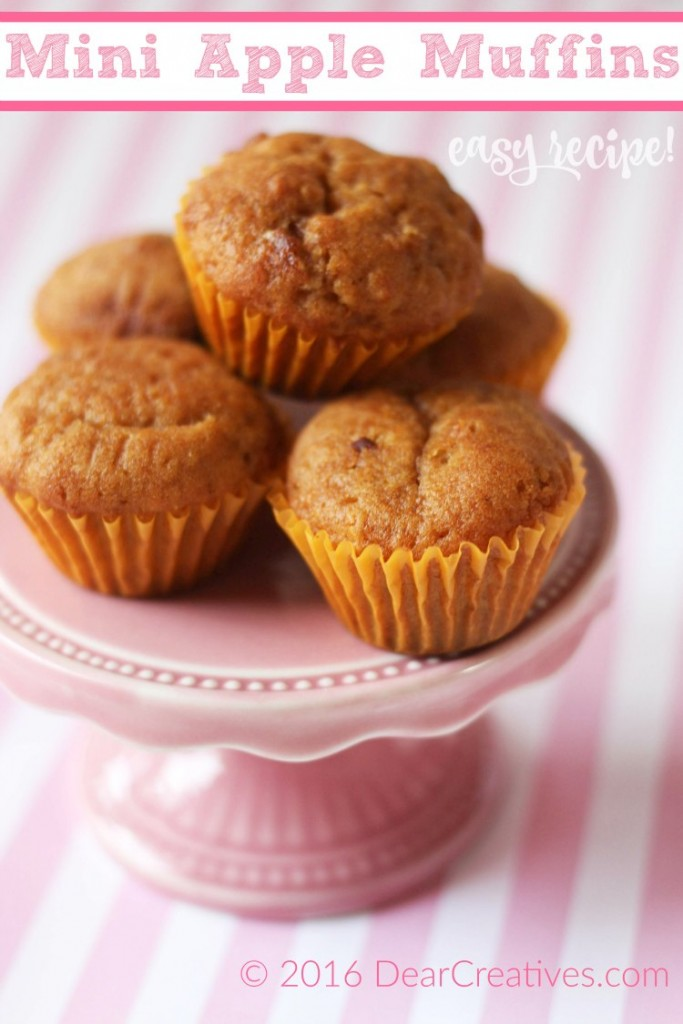 Apple Muffins | Apple Muffins Recipe |Mini Apple Muffins