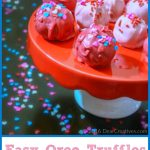 Easy Oreo Truffles Candy Treat Recipe