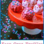 Easy Oreo Truffles Candy Treat Recipe