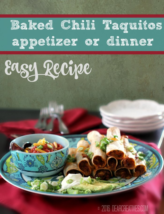 Easy Appetizer Recipes | Taquitos Recipe