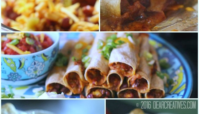 Game Day Time Appetizer or Dinner! Under 30 Minute Restaurant Style Taquitos