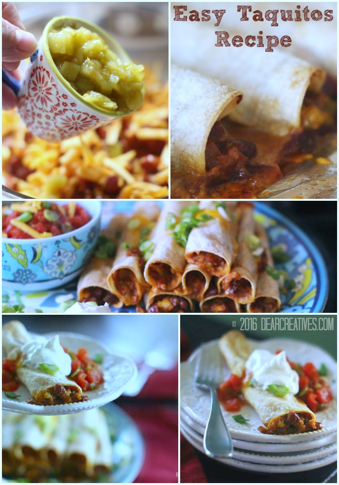 Easy Appetizer Recipes | How to Make Taquitos