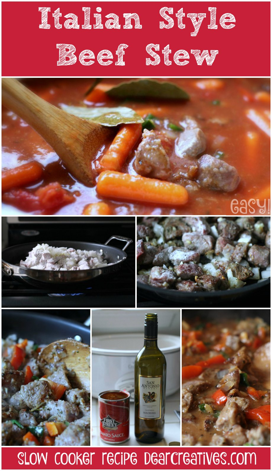 Slow Cooker Recipes | Beef Stew Recipe