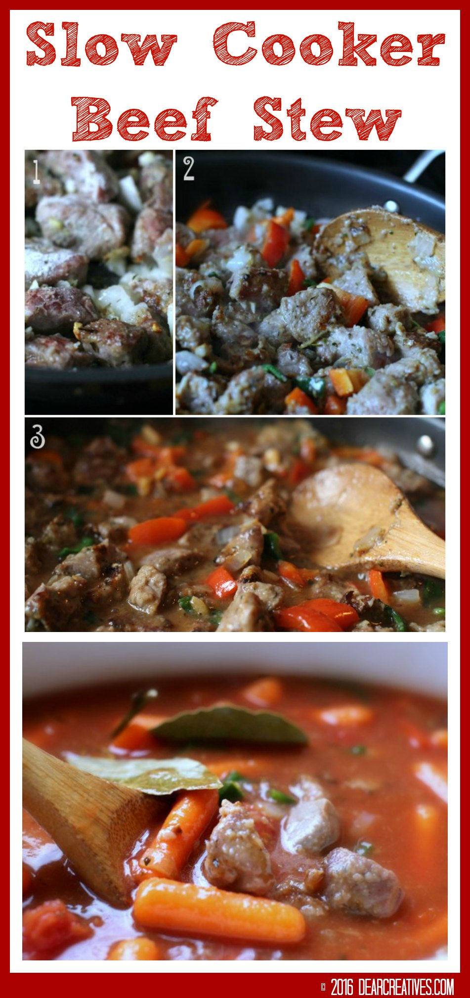 Slow Cooker Recipes Beef Stew