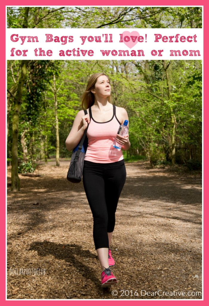 Activewear Gym Bag Solutions For The Active Woman And Mom