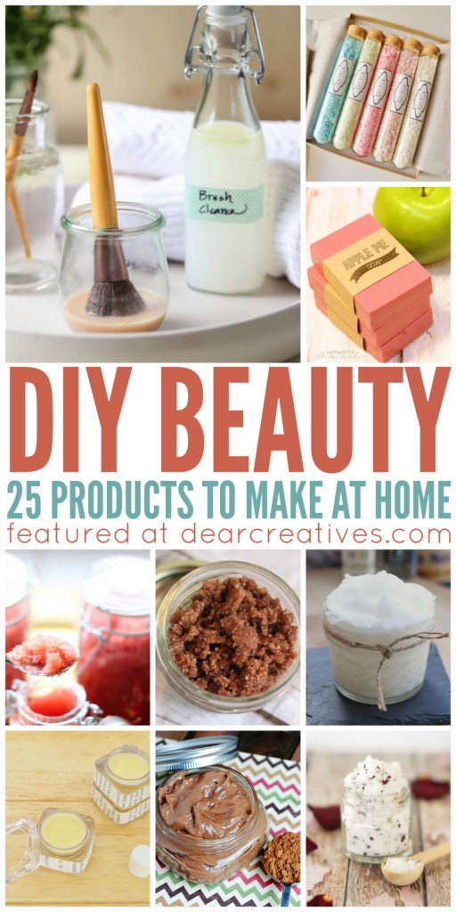 DIY Beauty: 25 Must Try Homemade DIY Beauty Products ...