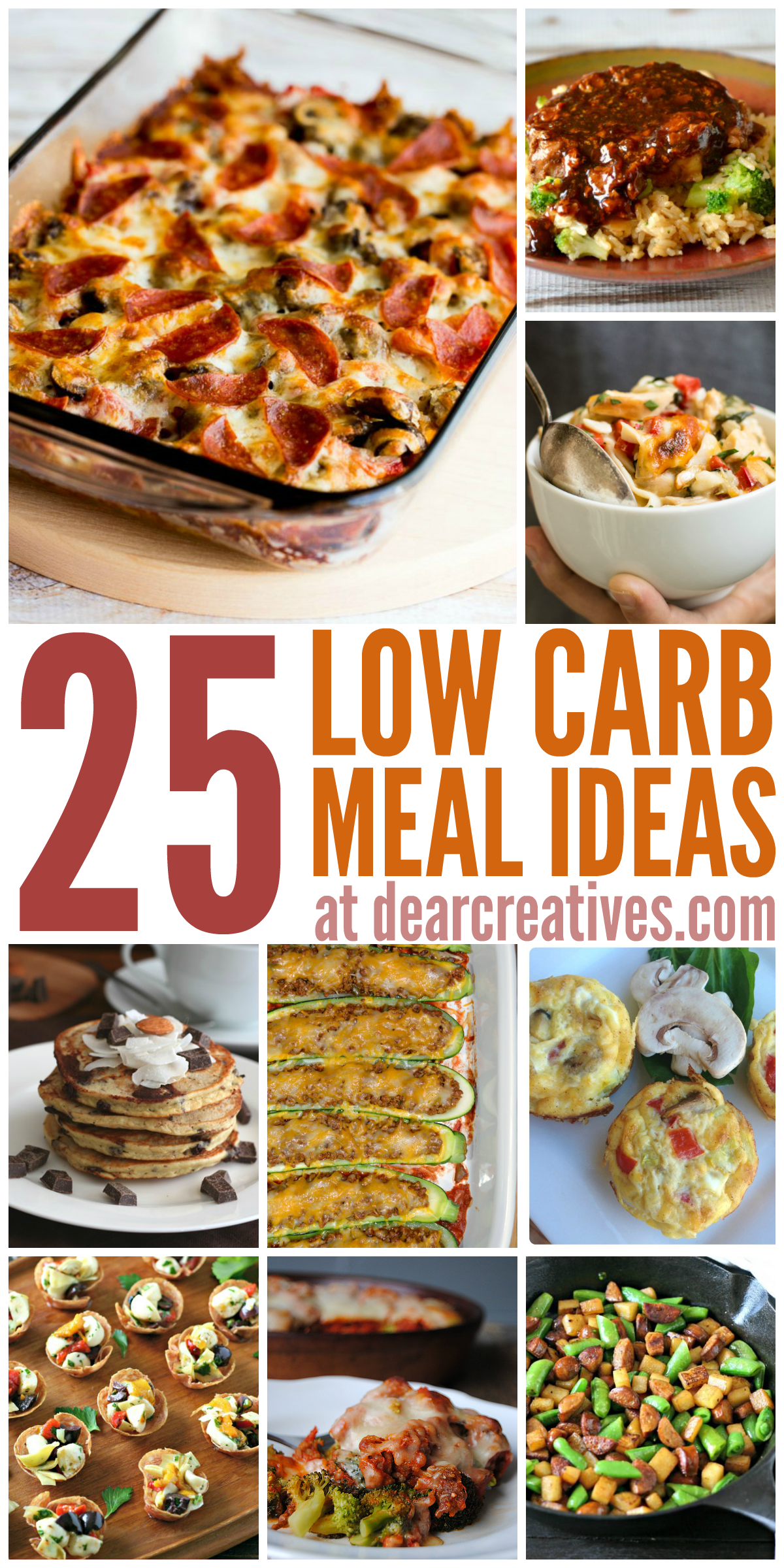 Healthy Recipes: Must Try Low Carb Meal Ideas! #Recipes