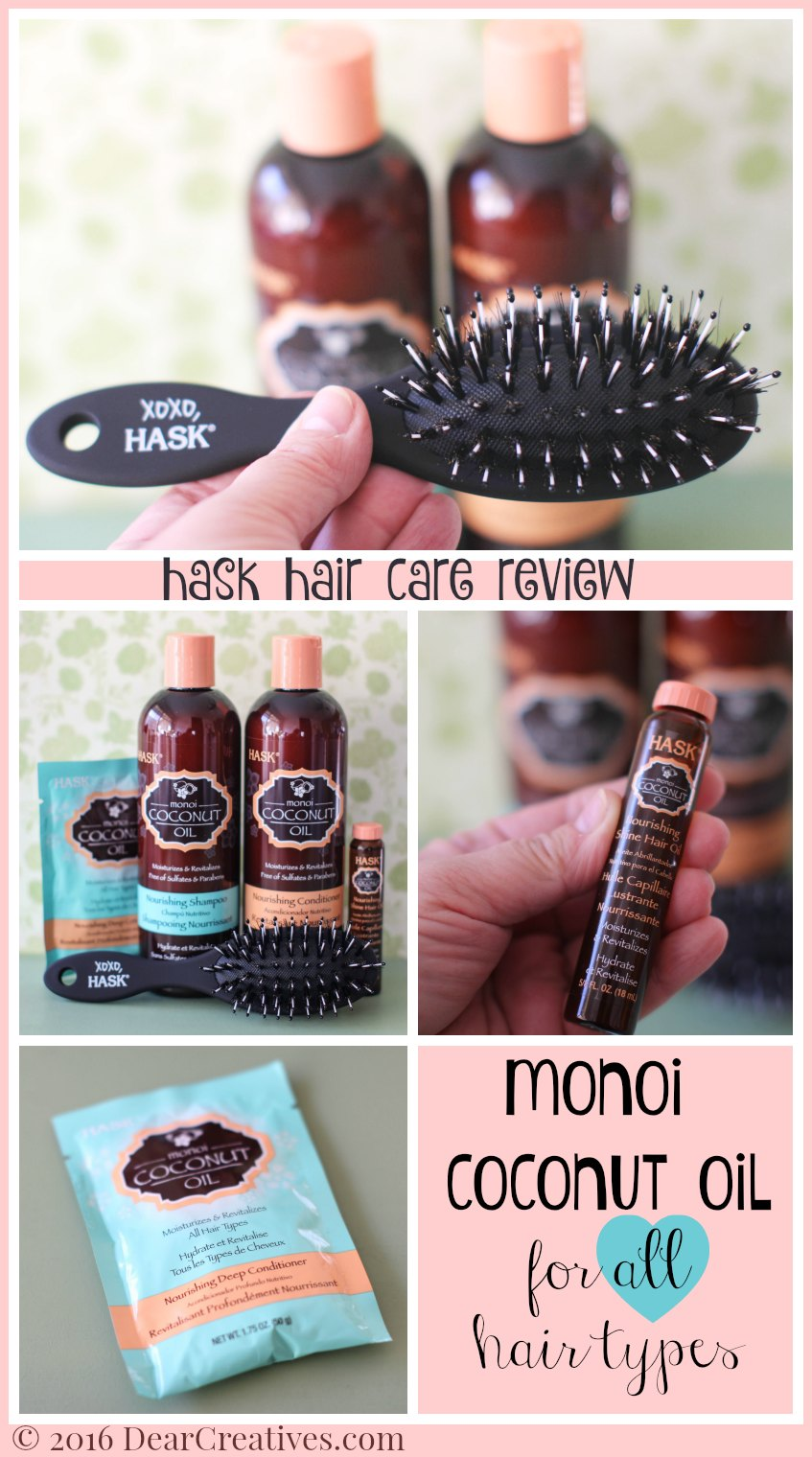 Hair Products |Beauty Hair Care Hask Coconut Oil Shampoo And Conditioner beauty review