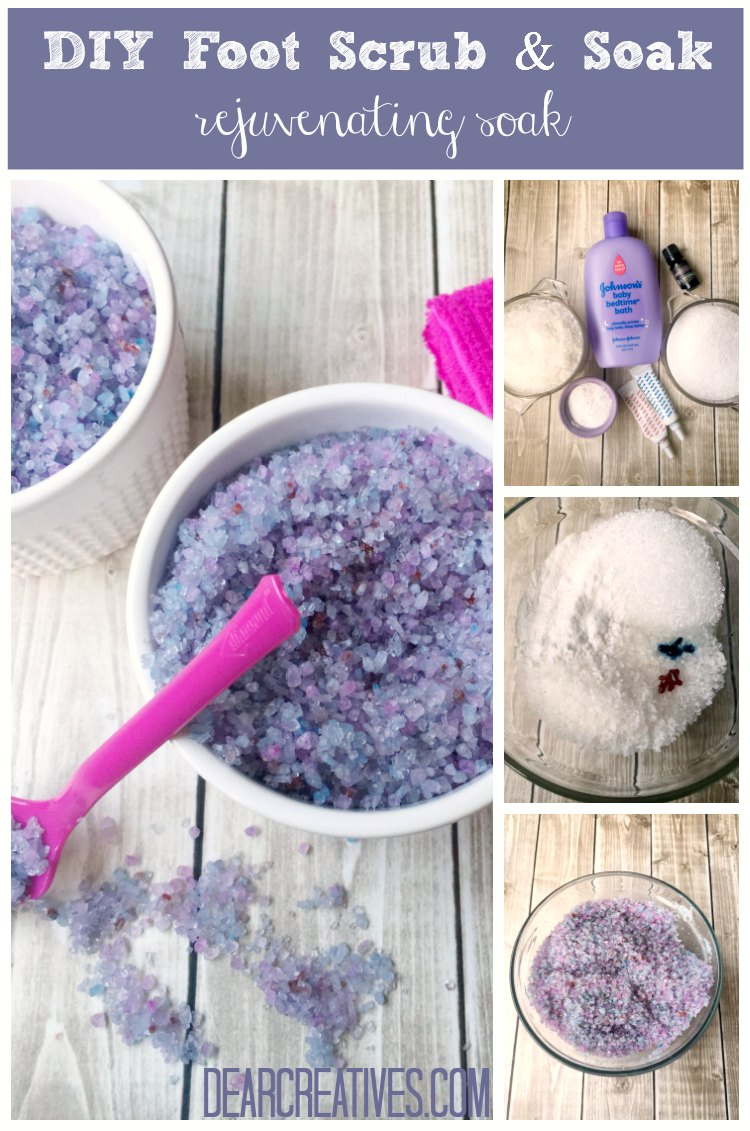 Beauty Tips DIY Foot Scrub And Foot Soak