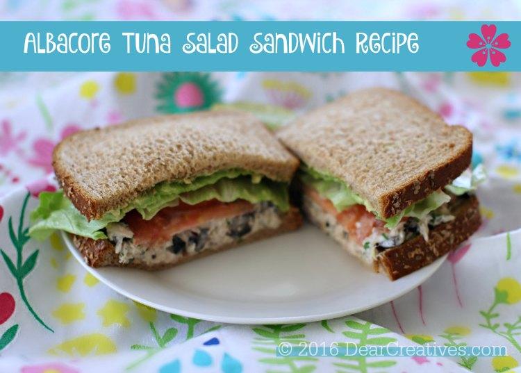 Sandwich Ideas Albacore Tuna Salad Sandwich recipe