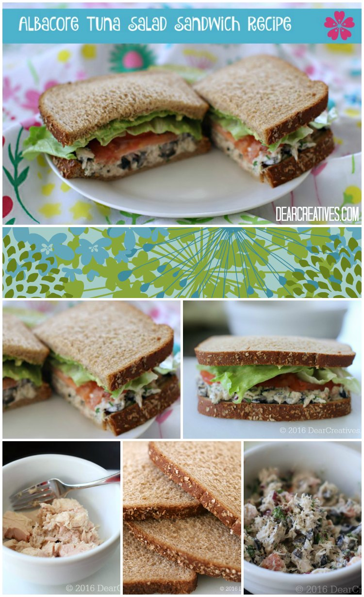 Tuna Salad Sandwich Recipe!