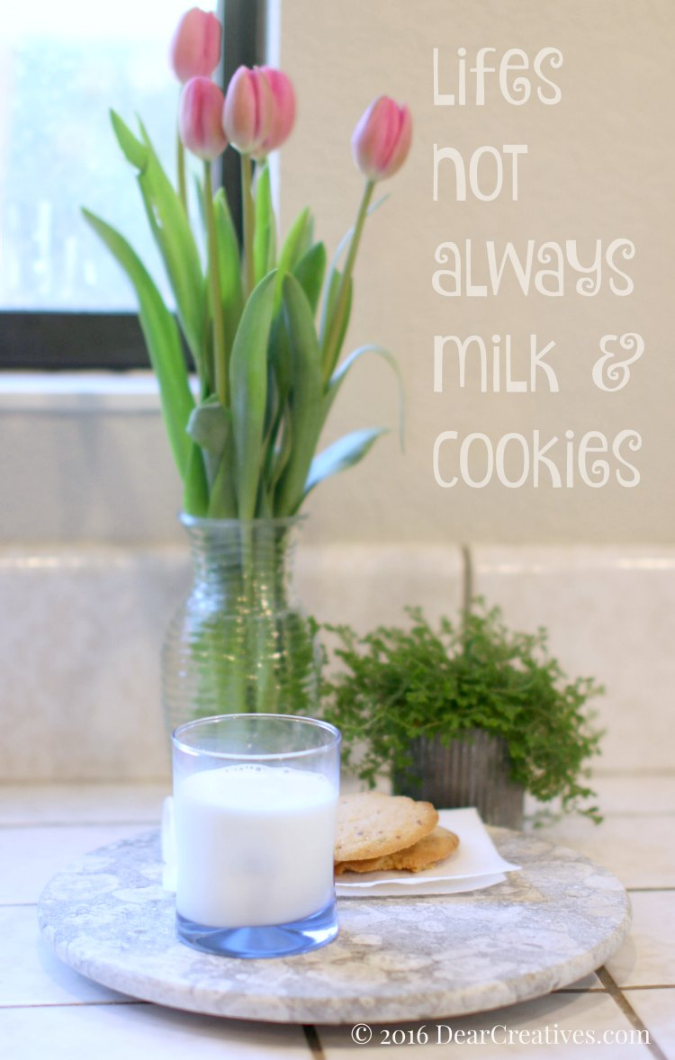 Life's Not Always Milk & Cookies When It Comes To Milk