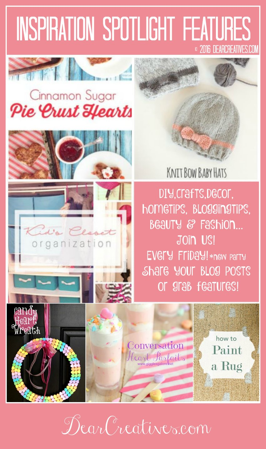 Linkup Party |Inspiration Spotlight 181 | Bloggers linky party