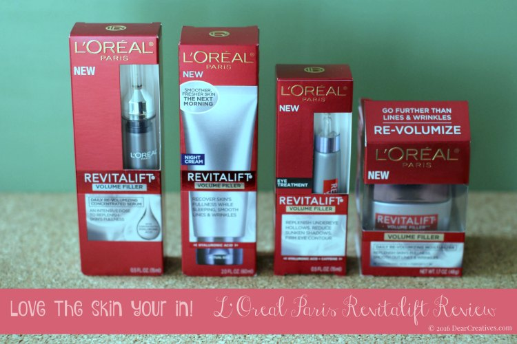 Beauty Review L'Oreal Paris Revitalift Skin Care Beauty Products
